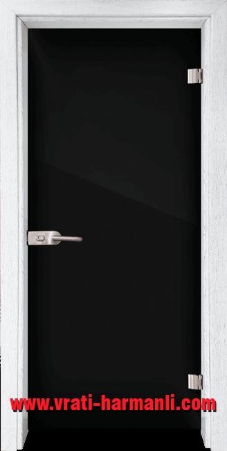 Стъклена интериорна врата модел Folio G 15-2 с каса Бреза