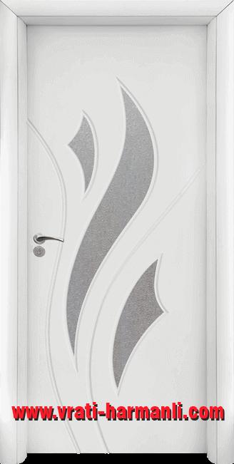 Интериорна HDF врата, модел 033 Бял