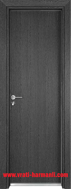 Алуминиева врата за баня – Gama, цвят Сив кестен